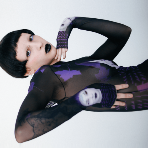 PURPLE HAZE x BB.MOTION CATSUIT BB PURPLE